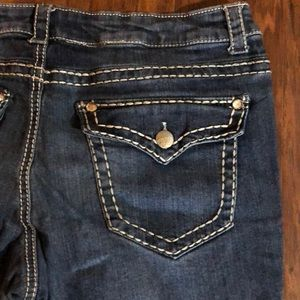 Paisley sky skinny jean size 16